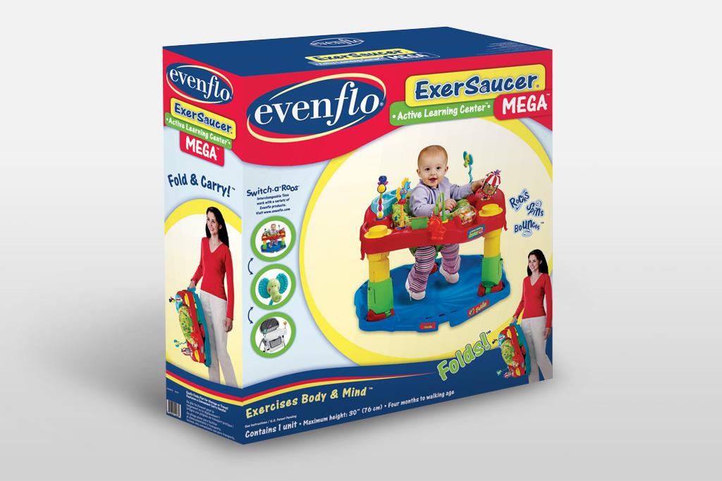 Evenflo Exersaucer Instruction Manual