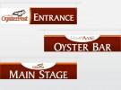 OysterFest Signage
